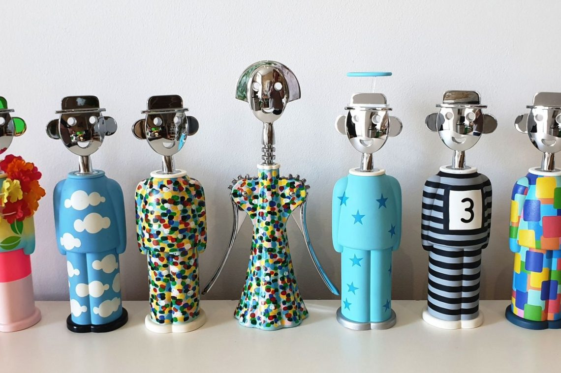 ALESSI ALESSANDRO M LIMITED EDITION CORKSCREWS
