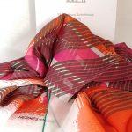 Châle Hermès Big H Madras