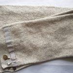 Echarpe Louis Vuitton laine grisée