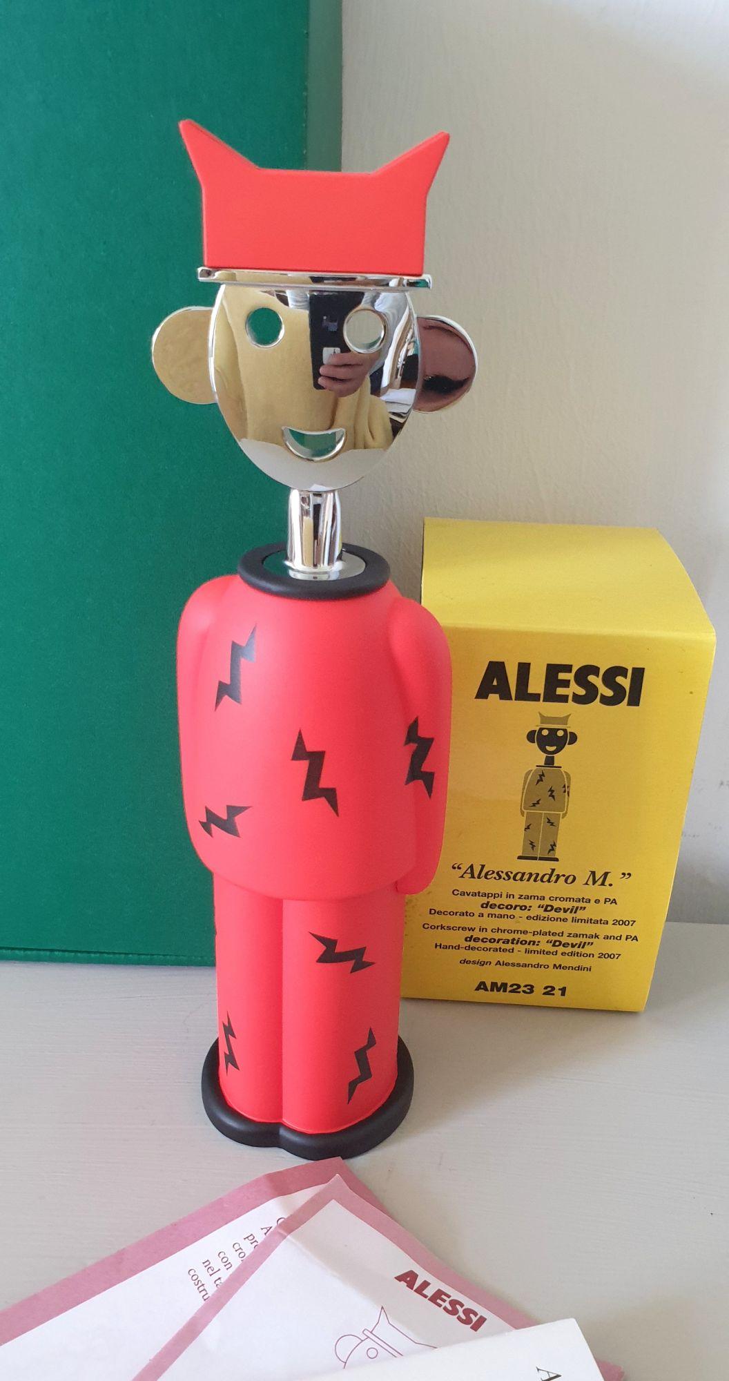 """Tire-bouchon Alessi - Alessandro M. """"Devil"""" édition limitée"""