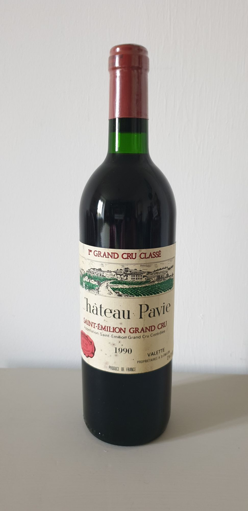 Château Pavie 1990Château Pavie 1990