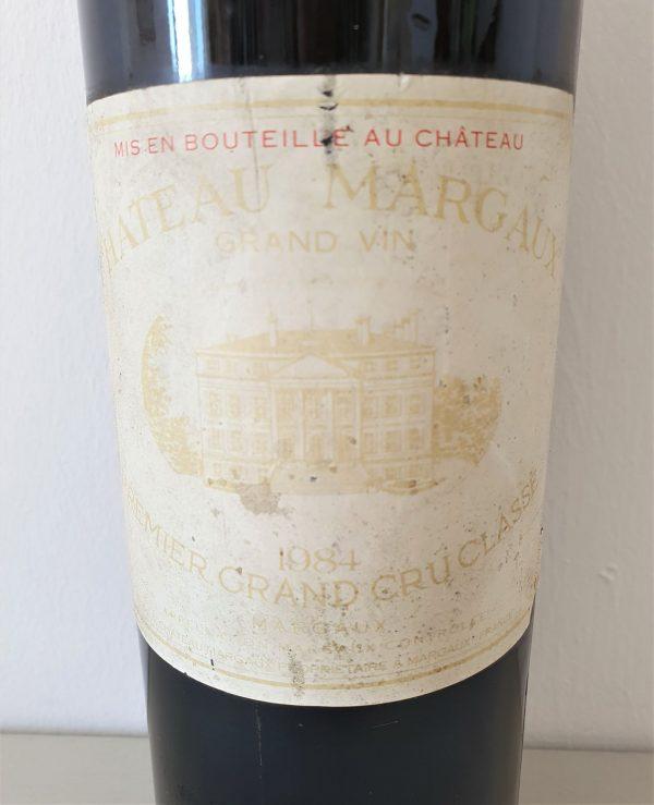 Etiquette Château Margaux 1984